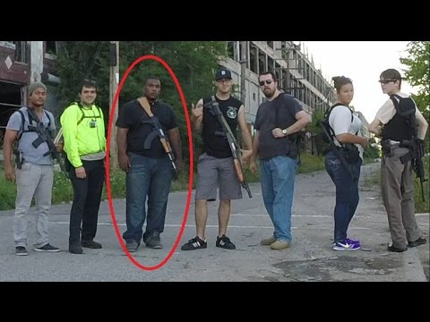 Open Carry March - Protest for Arrested Activist in Detroit, MI