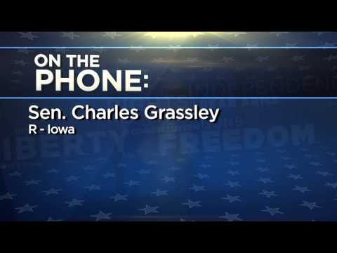 Sen. Chuck Grassley Discusses Senate Judiciary Committee Hearing on Guns