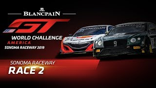 RACE 2 - SONOMA - Blancpain GT World Challenge America
