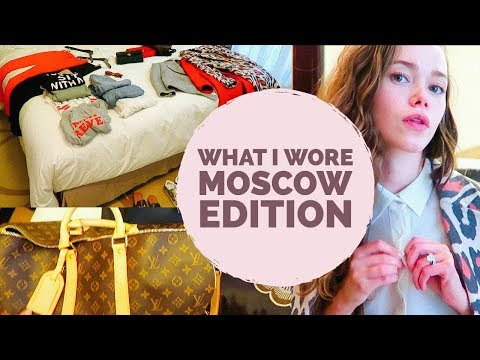 What I Wore Moscow Edition/ How to Pack A Carry On For 1 Week Of Outfits