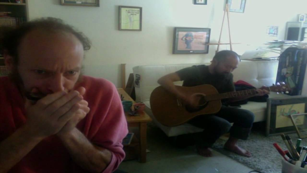 Another Harmonica blues jam with Polo in key of C