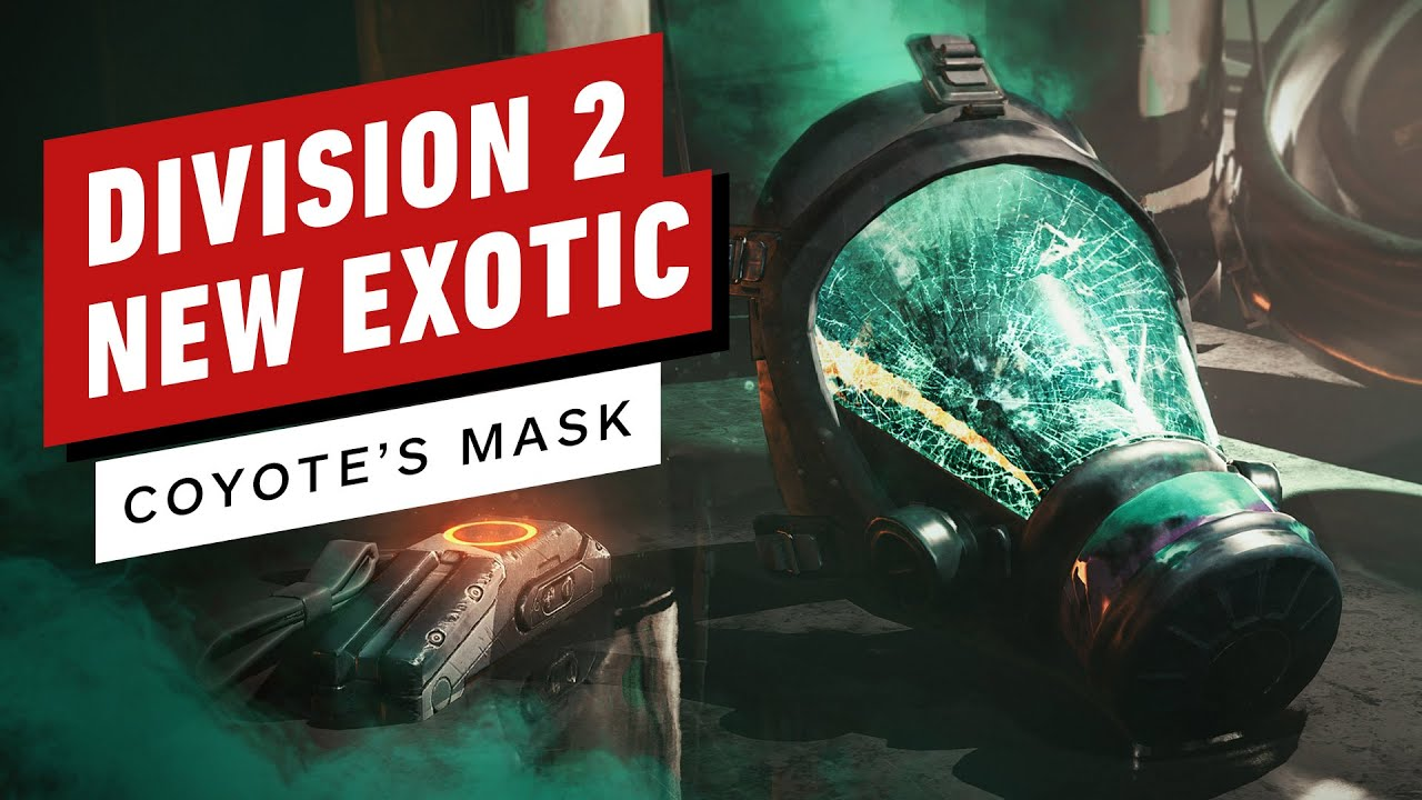 The Division 2 Warlords of New York Exotic Coyote's Mask Perks Revealed thumbnail