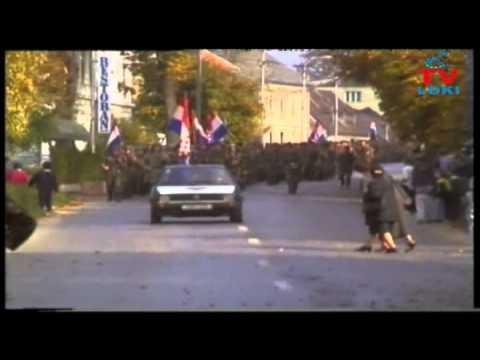 133. BRIGADA OTOČAC POSTROJAVANJE 1995. PRVI DIO - YouTube