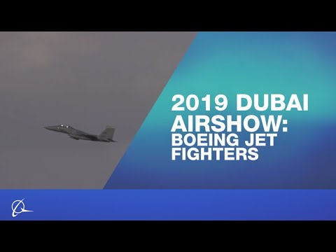 Boeing Jet Fighters at 2019 Dubai Airshow