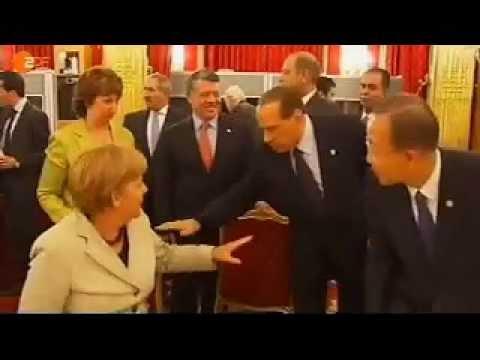Wie Silvio Berlusconi sein Amt versteht. Z.D.F. (28-09-2011)