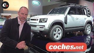 Land Rover Defender 2020 | Salón de Frankfurt IAA 2019 en español | coches.net
