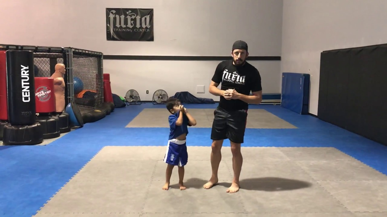 Escape Side Control/Self-Defense for Toddlers