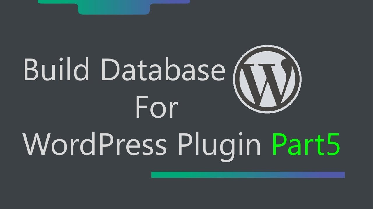 WordPress Plugin Development - How To Display JSON Array Data In Html Table  - Part 5