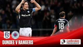 Dundee beat Rangers for first time in 20 matches