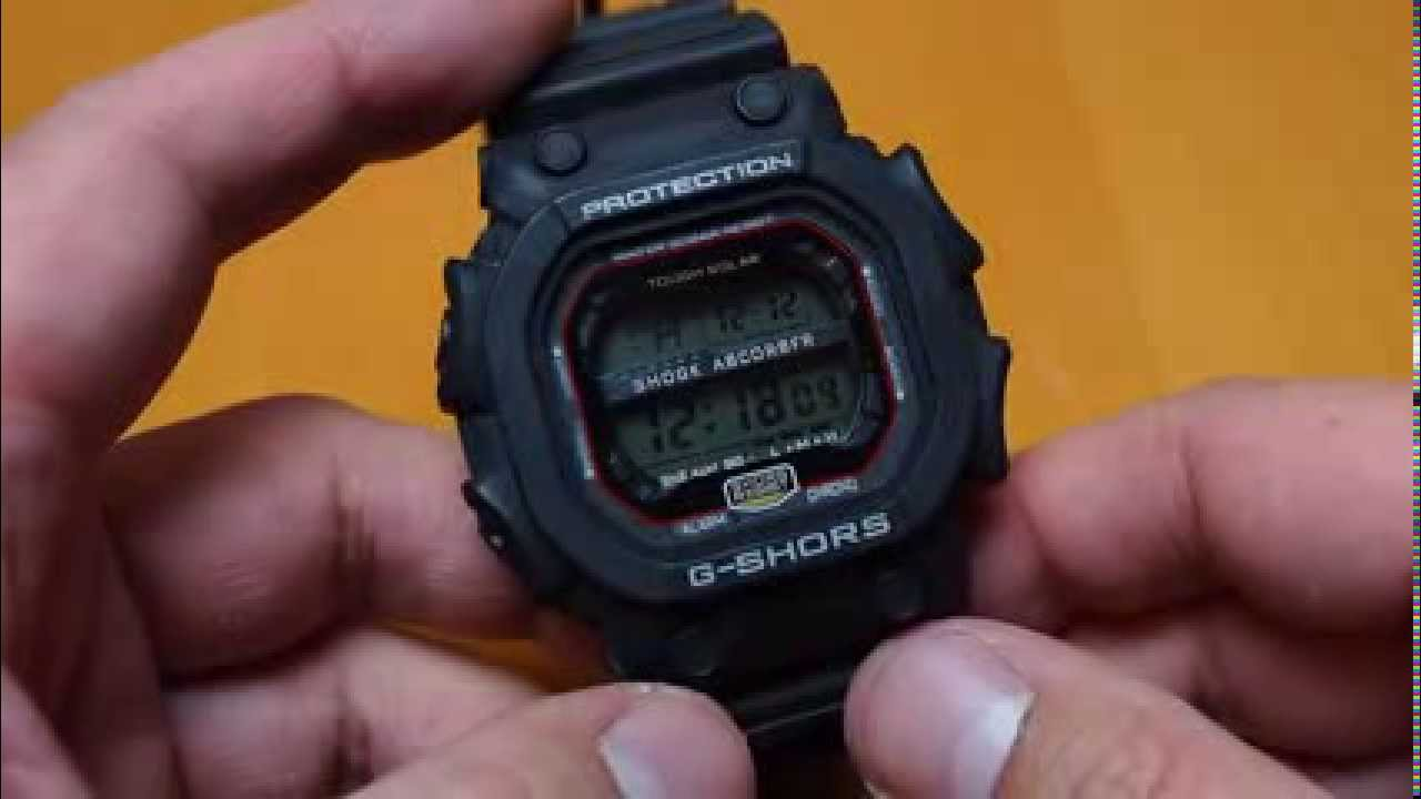 7e98a15795b A clone repilca G-Shock of GX-56 called G-Shors flip review