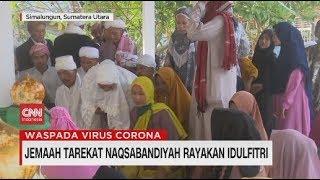 Jemaah Tarekat Naqsabandiyah Rayakan Idul Fitri