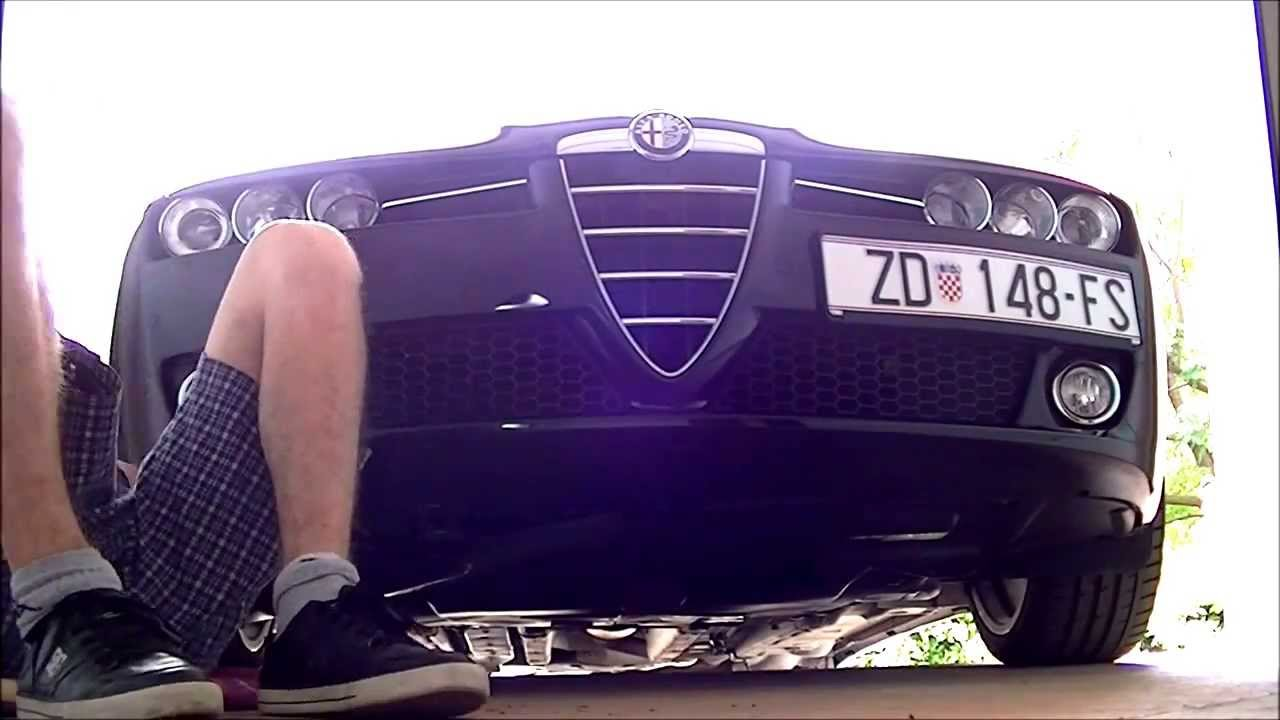 Alfa Romeo 159 Changing Air Filter Youtube