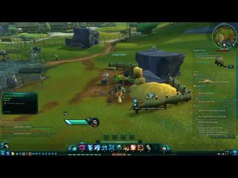WildStar PVE - Chua Medic Gameplay Part 14 - Auroria 100% Map Walkthrough