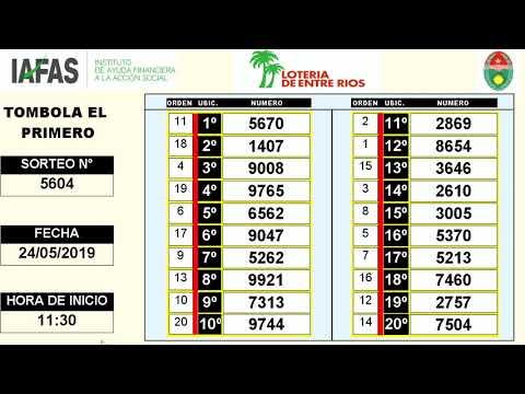 EL PRIMERO 24 05 2019