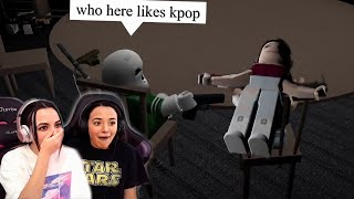 Shot for Liking Kpop in Roblox... - Merrell Twins Live (Funny Moments)
