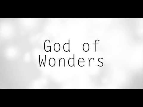 God of Wonders Training