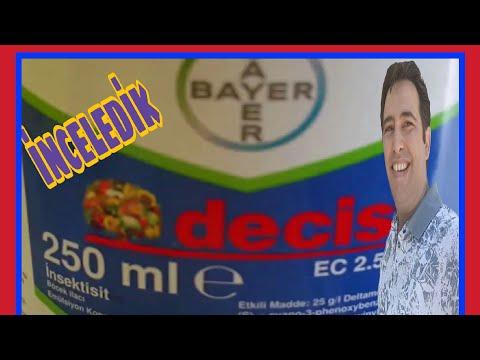 Bayer decis 2.5 EC İNSEKTİSİT BÖCEK ÖLDÜREN TARIM İLACI 35 TL