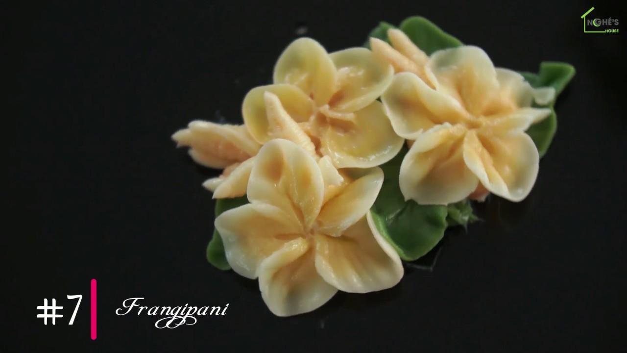 7 FRANGIPANI | Basic Buttercream Flowers for beginners ...