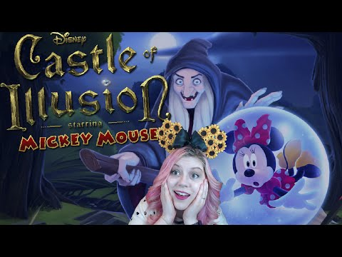 Disney's Castle of Illusion: Starring Mickey Mouse | The Enchanted Forest [1] | Mousie