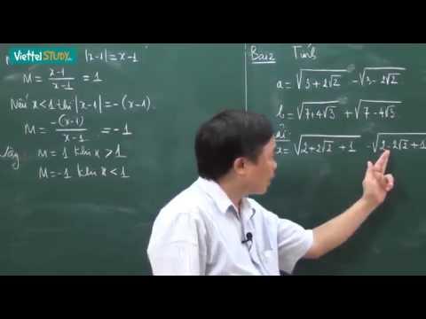 Ôn thi tuyển lớp 10 toán Căn thức Bài 01 Các bài tập cơ bản củng cố kiến thức