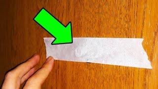Kapı Dürbününüzün Üzerine Bir Parça Bant Koyun, Evinizi Korusun