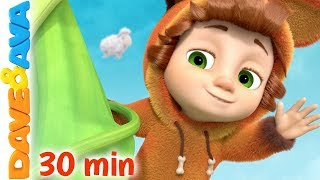 🦄 Nursery Rhymes \u0026 Kids Songs | Baby Songs by Dave and Ava 🦄