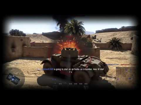 The Second Battle of El Alamein: Warthunder PS4 gamplay