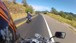► 54 - Shadow 600 - Subindo a Br-262 com as Harleys e as Big Trails