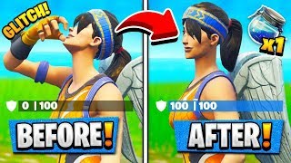 *NEW* HOW TO INSTANTLY SHIELD POT in  FORTNITE! (Fornite Battle Royale)