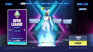 (Fortnite) Getting ready for tournament ARENA)