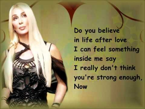 Cher- Believe (lyrics) [HD]