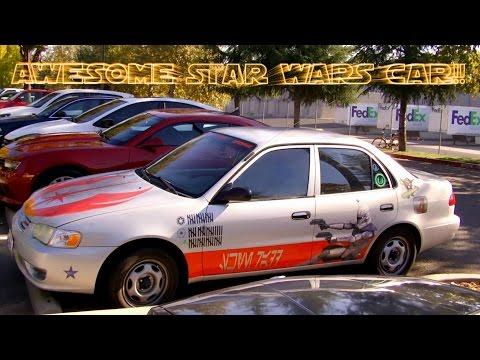 Boba Fett Star Wars Car