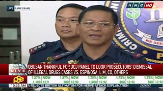WATCH: CIDG speaks on dismissal of drug raps Kerwin Espinosa, several others | 14 March 2018