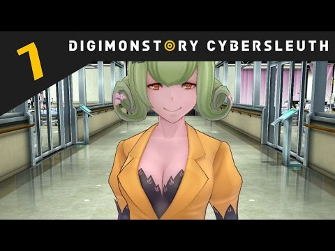 Digimon Story: Cyber Sleuth PS4 / PS Vita Let's Play Walkthrough Part 7 - EDEN Syndrome