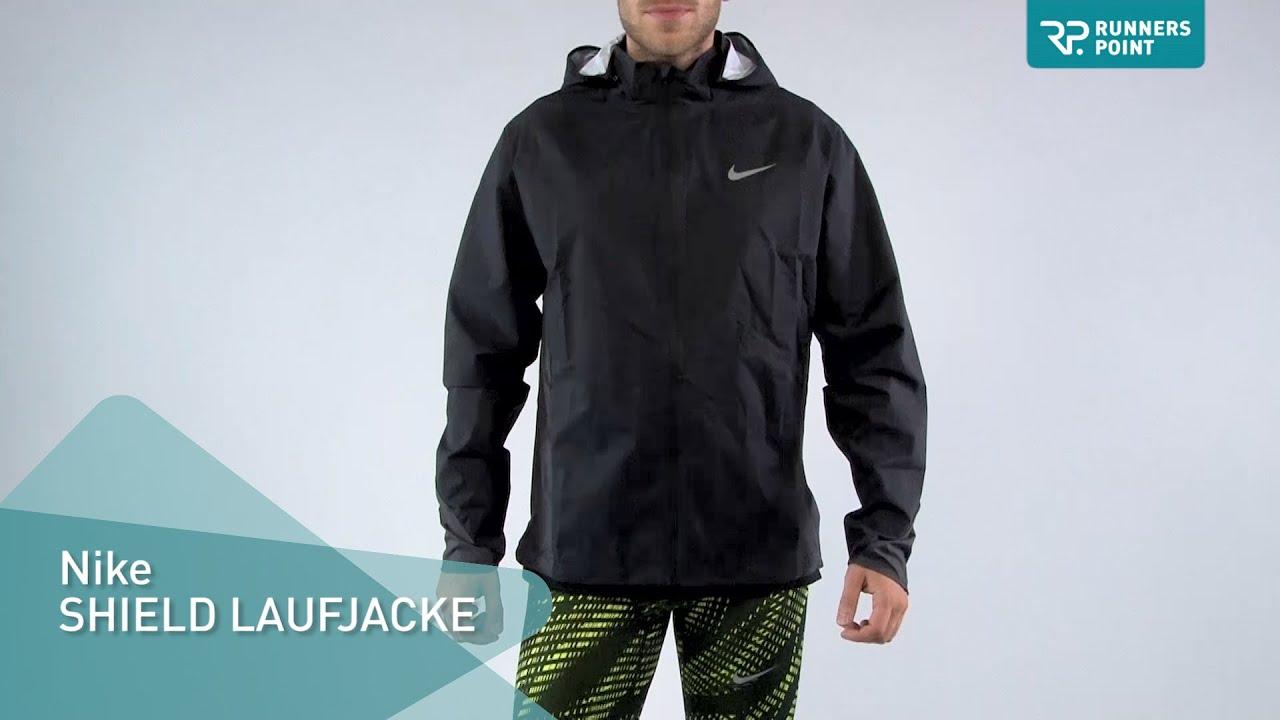 Nike SHIELD LAUFJACKE - YouTube e848e11602455