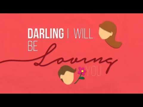 Ed Sheeran - Thinking Out Loud Video Lyrics (using Motion Graphic)