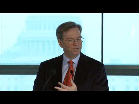 Eric Schmidt at NASA 50th Anniversary Lecture Series