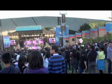 K-pop girls generation shoreline amphitheatre Mountain View CA USA