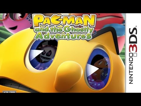 Pac Man And The Ghostly Adventures 1 Gameplay (Nintendo 3DS) [60 FPS] [1080p]