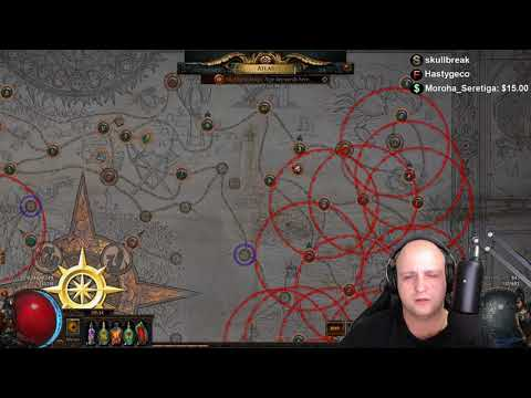 Path of Exile - Shaping/Sextant blocking Spider Forest (ATLAS! HARBINGER LEAGUE!)