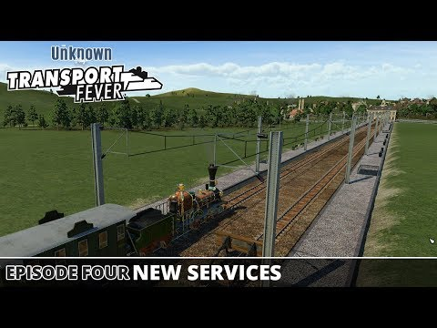 New Services : Transport Fever - Large Map - Medium Level - Mods - #04