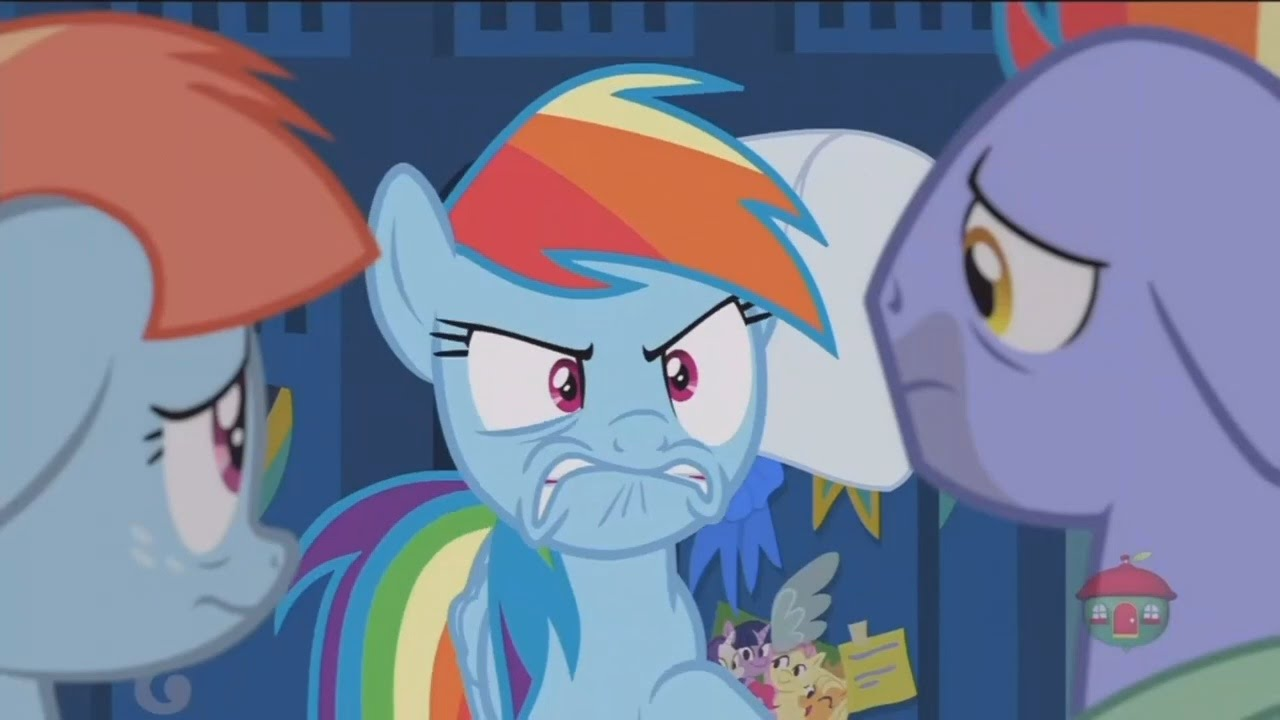 my little pony rainbow dashs parents