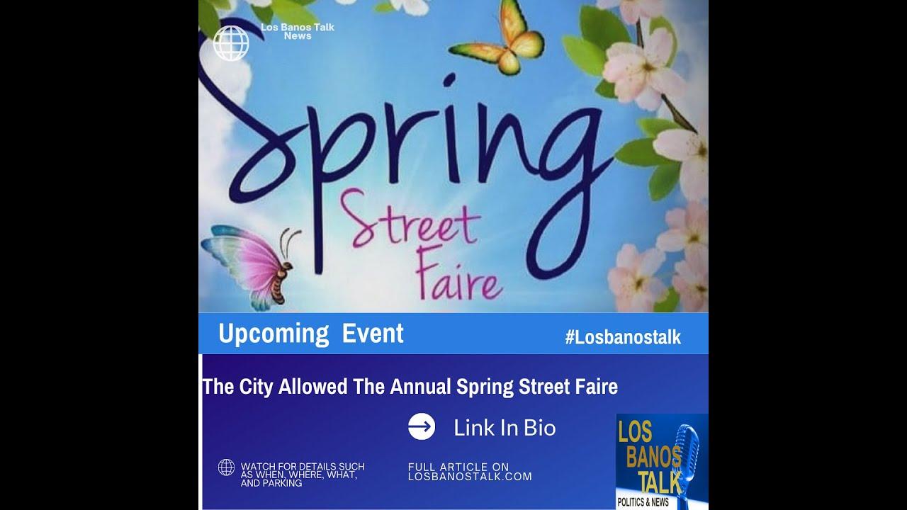 Los Banos Downtown Spring Faire April 2021