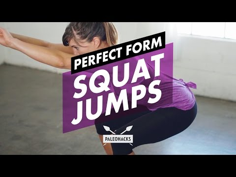 How to Do Squat Jumps + Mistakes & Variations