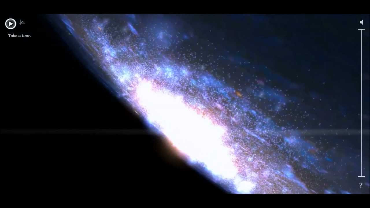 Interactive Map Of The Milky Way Galaxy YouTube - Interactive space map