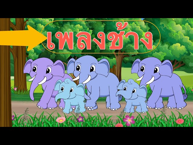 เพลงช้าง ช้าง ช้าง น้องเคยเห็นช้างหรือเปล่า |  Kids Song