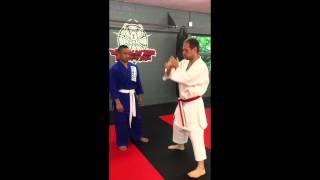 Shotokan's Juji Uke Bunkai