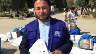 IOM Afghanistan: Distributing Shelter and Winter Supplies