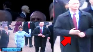 He's Back! Reptilian Shapeshifter Secret Service Agent Spotted At Trump Inauguration? 1/21/17