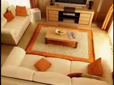 Indian living room decorating ideas youtube for Simple living room designs in india